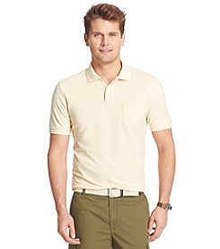 Izod® Men's Big & Tall Short Sleeve Solid Oxford Polo