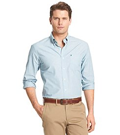 Izod® Men's Big & Tall Long Sleeve End On End Button Down