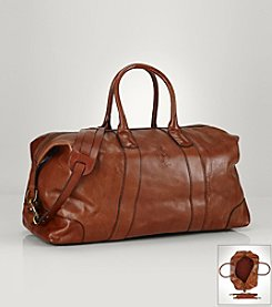 Polo Ralph Lauren® Men's Small Brown Duffle