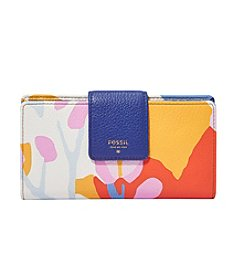 Fossil® Sydney Printed Leather Tab Clutch