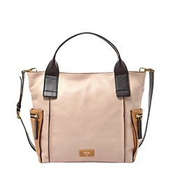 Fossil® Emerson Leather Colorblock Satchel