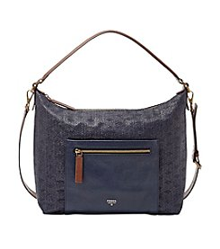 Fossil® Vickery Straw Shoulder Bag