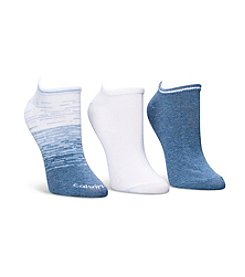 Calvin Klein 3 Pack Ombre Low Cut Socks