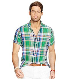 Polo Ralph Lauren® Men's Short Sleeve Plaid Shirt