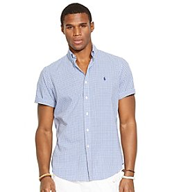 Polo Ralph Lauren® Men's Short Sleeve Tattersall Shirt