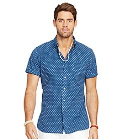 Polo Ralph Lauren® Men's Short Sleeve Poplin Shirt