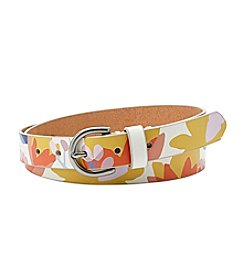 Fossil® Printed C Buckled Belt