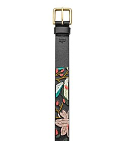 Fossil® Embroidered Jean Belt