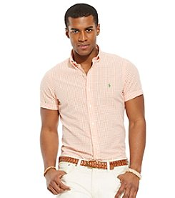 Polo Ralph Lauren® Men's Short Sleeve Seersucker Button Down Shirt