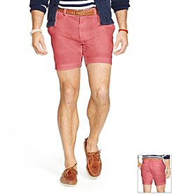 Polo Ralph Lauren® Men's Flat Front Twill Shorts