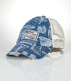 Polo Ralph Lauren® Men's Sailboat Trucker Hat