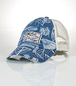 Polo Ralph Lauren® Men's Sailboat Trucker Hat