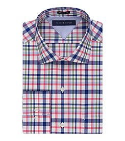 Tommy Hilfiger® Men's Regular Fit Multi Plaid Dress Shirt