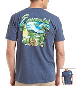 Paradise Collection® Men's Emerald Bay Screen Tee