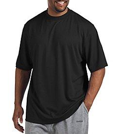 Reebok® Men's Big & Tall Golf Short Sleeve Mock Neck Shirt