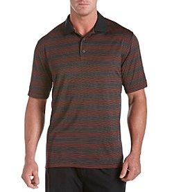 Reebok® Men's Big & Tall Play Dry® Multicolor Stripe Polo Shirt
