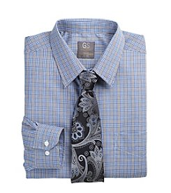 Gold Series™ Men's Big & Tall Houndstooth Check Dress Shirt