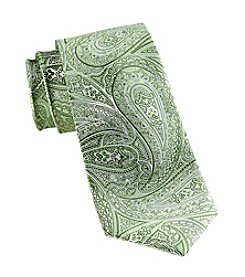 Synrgy Men's Big & Tall Obsidian Paisley Tie