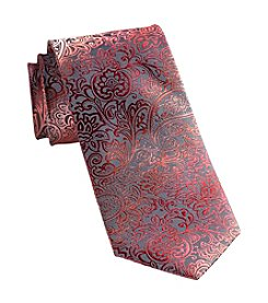 Synrgy Men's Big & Tall Ombre Floral Tie