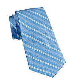 Rochester Men's Big & Tall Textured Stripe Tie