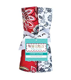 Trend Lab Waverly® 4-Pack Charismatic Burp Cloth Set