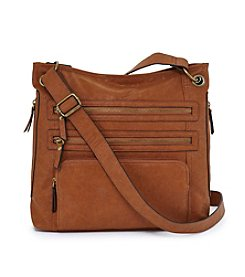 GAL Veg Tan Multi Zip Crossbody