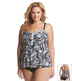 24th & Ocean Tiered Bandeau Tankini