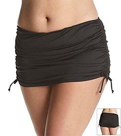 24th & Ocean Plus Size Shirred Skirt