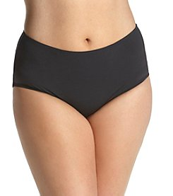 Anne Cole® Plus Size Solid High Waist Bottom
