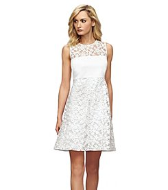 Calvin Klein Lace Shift Dress