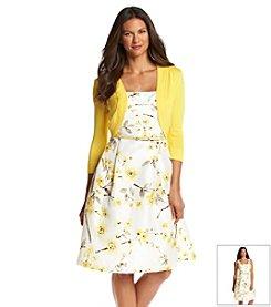 Jessica Howard® Sweater Shrug Dress