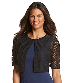 Lennie Sheer Lace Bolero Jacket