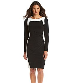Lauren Ralph Lauren® Two Tone Dress