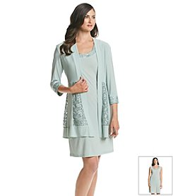 R&M Richards® Lace Jacket Dress