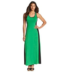 Calvin Klein Colorblocked Maxi Dress
