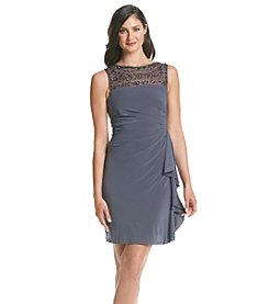 Jessica Howard® Illusion Neck Dress