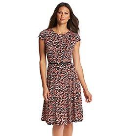 Jessica Howard® Polka Dot Swing Dress