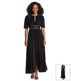 R&M Richards® Petites' Beaded Bolero Jacket Dress