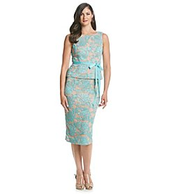 Alex Evenings® Lace Peplum Dress