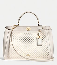 COACH GRAMERCY SATCHEL IN STUDDED LEATHER