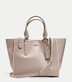 COACH CROSBY CARRYALL IN COLORBLOCK LEATHER