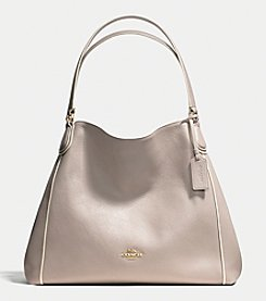 COACH EDIE SHOULDER BAG IN COLORBLOCK LEATHER