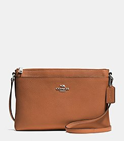 COACH JOURNAL CROSSBODY IN POLISHED PEBBLE LEATHER