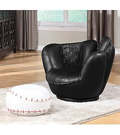 Acme All-Star Baseball Chair & Ottoman