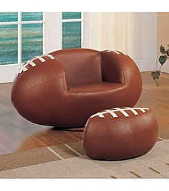 Acme All Star Football Chair & Ottoman