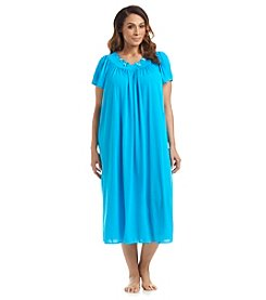Miss Elaine® Plus Size Long Nightgown