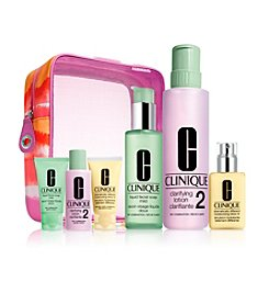 Clinique Great Skin Home & Away Skin Type 1/2 Gift Set (A $90 Value)