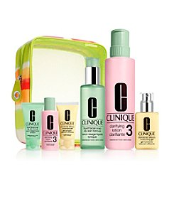 Clinique Great Skin Home & Away Skin Type 3/4 Gift Set (A $90 Value)