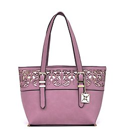 Nicole Miller New York Lacy Small Tote