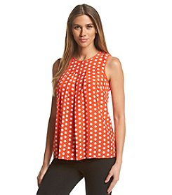 MICHAEL Michael Kors® Dot Pleat Top